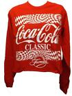 New Coca Cola Coke Womens Sizes S-M-L Red Crop Top Shirt $15.3  on eBay