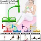 Multi-Function Tension Rope Fitness Pedal Exerciser Rope Pull Bands image