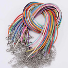 High Quality Leather Necklace Lobster Clasp Rope Cord String For Pendants Uk