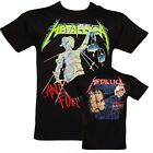 METALLICA And Justice For All T-SHIRT NEW M L XL XXL official band merch image