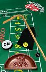 Craps Sets w/Dice Stick, Featuring Authentic Las Vegas Casino Table-Played Dice