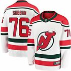 Fanatics Branded PK Subban New Jersey Devils White Alternate Premier Breakaway