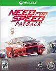 Need for Speed Payback (Microsoft Xbox One, 2017)—Sealed New with Damaged Case