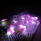 Led String Lights Fairy Love Heart Shaped Led Girls Bedroom Home Romantic Decor
