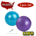 "9.84"" Small Yoga Ball Pilates Fitness Exercise Stability Workout Balance A Pair image"