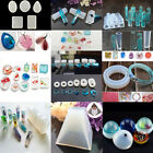 Geometry Silicone Mold Resin Jewelry Making Mould Epoxy Necklace Pendants Top