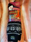 Polar Extreme Women's Thermal Insulated Lined Striped Crew Socks YOU Pick