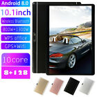 """10.1"""" Android 8.0 Tablet 4g-lte Ips Hd 8+128g Dual Sim/phone Call/gps New"""