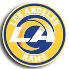 Los Angeles Rams NEW LA Circle Logo Sticker  |  Vinyl Decal $9.99 USD on eBay