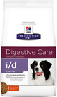 Hills Prescription Diet I/D Low Fat Dry Canine Food Prebiotic Fibres Ginger