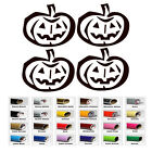 Pumpkin Vinly Decal for Car Window Bumper Wall Door Laptop Tablet Party Sticker