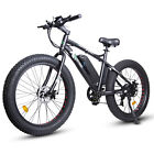 ECOTRIC 26' Mountain Beach Electric Bicycle e-Bike Removable Battery 7 Speed NEW