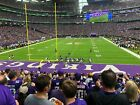 4 Lower Endzone Tickets Minnesota Vikings vs Carolina Panthers 11/29 $650.0 USD on eBay