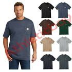 Carhartt Workwear Pocket Short Sleeve T-Shirt Work Shirt Regular and Tall Sizes  image