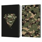 OFFICIAL SUPERMAN DC COMICS LOGOS LEATHER BOOK WALLET CASE COVER FOR APPLE iPAD