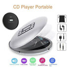 CD611T Portable Bluetooth CD Player AUX Anti-Skip LCD MP3 Player with Earphone