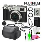 Купить Fujifilm X100F Point and Shoot Digital Camera (16534651) Starter Bundle