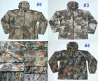 Under Armour Storm Hybrid Waterproof Jacket Hooded Scent Control Camo Rain M L