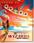VPU-2 Wizards U.S. Navy Kaneohe Bay Vintage Travel Poster Reproduction