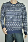 Levi's Classic Holiday Sweater Panther Dress Blue NWT Style 564620000
