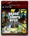 Grand Theft Auto: San Andreas (Greatest Hits) - PS3 - Brand New   Factory Sealed