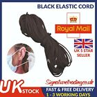 3mm Elastic Cord SOFT BLACK & WHITE Band Strap Sewing Craft For Face Mask <br/> ✅ SKIN FRIENDLY ✅ FREE 1ST CLASS POST ✅ UK STOCK  ✅