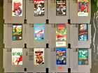 NES Games - You Pick - choose any * TESTED * Nintendo 1980's