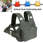 Motorcycle Child Safety Seat Strap Resistant Baby Harness Belt Reflective Part