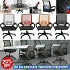 Office Mesh Chair Executive Computer Desk Fabric Adjustable Ergonomic 360° -UK-