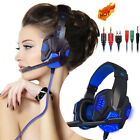 3.5mm Gaming Headset Gaming Headphones LED with Mic for Gamer skype PC