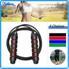Adult Speed Skipping Jump Rope Crossfit Boxing Weighted Exercise Workout Gym image