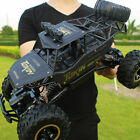 Large Remote Control RC 4WD Big Wheel Toy Car Monster Truck 2.4 GHz RTR Car Toys