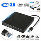 Portable Ultra Slim USB 3.0 External DVD-RW CD-RW Burner Writer Drive For PC MAC