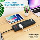 Power Strip, Bototek Surge Protector with 10 AC Outlets and 4 USB Charging
