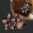 Fashion Women Crystal Hair Clip Claws Flower Crystal Hairpins Clamp Comb Crab