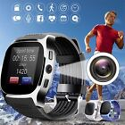 T8 Smart Watch Phone Mate SIM FM Pedometer For Android IOS iPhone Samsung