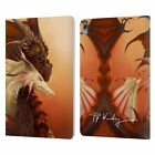 OFFICIAL PIYA WANNACHAIWONG COLORFUL DRAGONS LEATHER BOOK CASE FOR APPLE iPAD