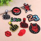 New Embroidered Applique Iron On Patch Design Diy Sew Iron On Patch Badge√