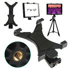 "Tripod Mount Holder Bracket 1/4"" Thread Adapter For 7""-12"" Tablet iPad Universal"