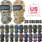 Summer Camouflage Balaclava Face Cover Neck Military Tactical Sun UV Protection