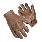 Cortech The Boulevard Mens Brown The Scrapper Leather Motorcycle Gloves