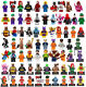 Lego DC Minifigures Justice League Batman Joker Superman Harley Quinn New Toys photo