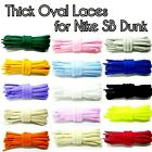 Thick Oval Shoe Laces Replacement Laces for Dunk SB Low Hi