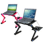 360 Folding Laptop Desk Computer Table 2 Holes Cooling Notebook Table with Mous