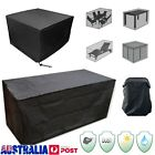 10 Size Waterproof Outdoor Furniture Cover Garden Sofa Table Chair Protector Au