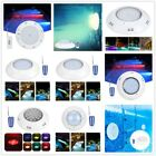 Underwater Light Swimming Pool Waterproof Wall Lamp Colorful Remote Control IP68