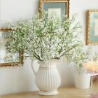 3 Stems Artificial Gypsophila Baby's Breath Silk Fake Flower Home Garden Decor