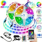 Kyпить Music LED Strip Lights 16 FT Bluetooth APP Remote 5050 RGB Backlight Waterproof на еВаy.соm