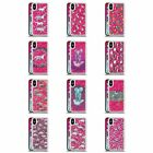 MICKLYN LE FEUVRE ANIMALS 2 HOT PINK HYBRID LIQUID GLITTER FOR iPHONE PHONES