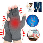 2Pcs Copper Compression Anti Arthritis Gloves Hand Support Joint Pain Relief